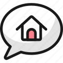 real, estate, message, house