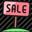 real, estate, sign, sale