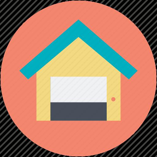 secure storage, storage, storage garage, storage garage unit, storage unit icon