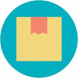 cardboard box, fragile, package, parcel, sealed box icon