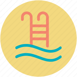 leisure activity, luxury, relaxation, spa, swimming pool icon