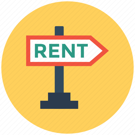 for rent estate, for rent sign, home for rent, real estate sign, relocation icon