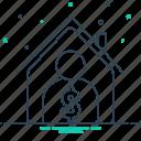 agent, broker, professional, property, real estate, real estate broker icon