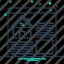 estate, online, real, real estate, real estate websites, technology, websites icon