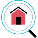 find, house, search, searching icon