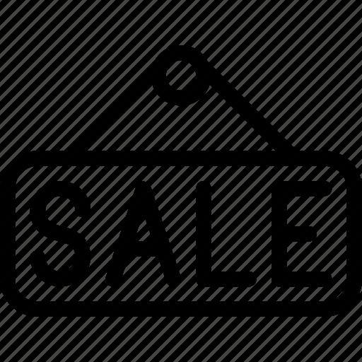 building, hanger, price, sale, tag icon