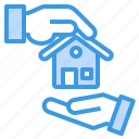 building, deal, estate, house, property, real icon