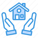 building, estate, house, mortgage, property, real icon