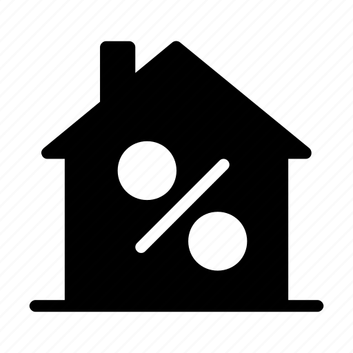discount, home, house, realestate, sale icon