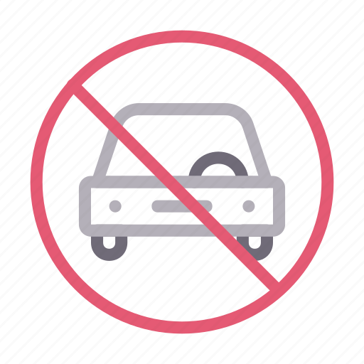 block, car, notallowed, parking, vehicle icon