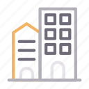 apartment, building, home, house, realestate icon