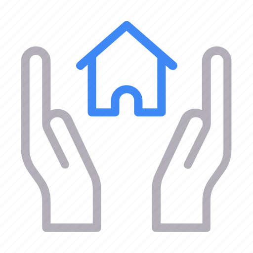 building, house, property, protection, secure icon