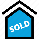 home, house, sold icon