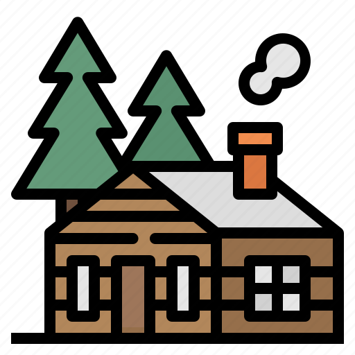 Building, cabin, home, house, villas icon - Download on Iconfinder