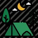 camp, camping, holidays, rural, tent