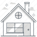 estate, house, investment, property, real, rental icon
