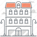 apartment, house, immovable, investment, property, real estate, rental icon