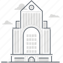 estate, immovable, investment, property, real, rental, skyscraper icon