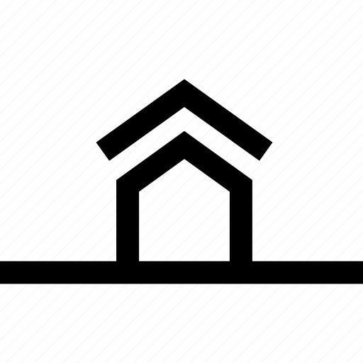 backyard, field, front, house, lawn, location icon