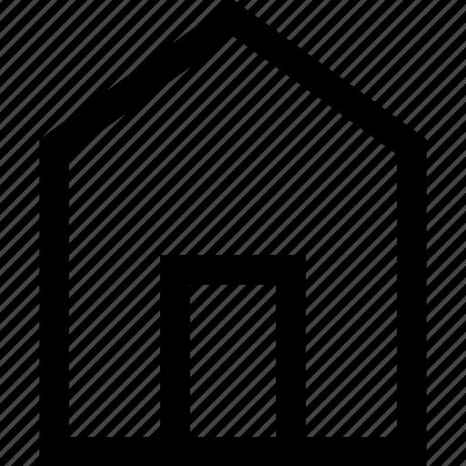 big, door, front, home, house, open icon