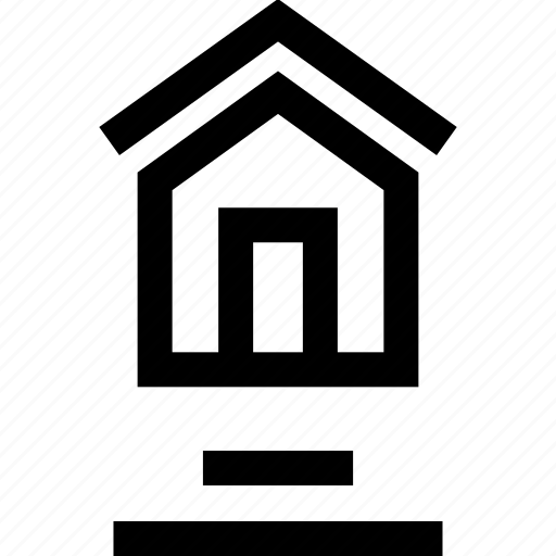 buy, forsale, home, house, lines icon