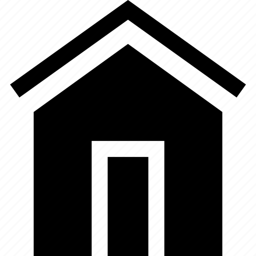 doors, home, house, roof icon