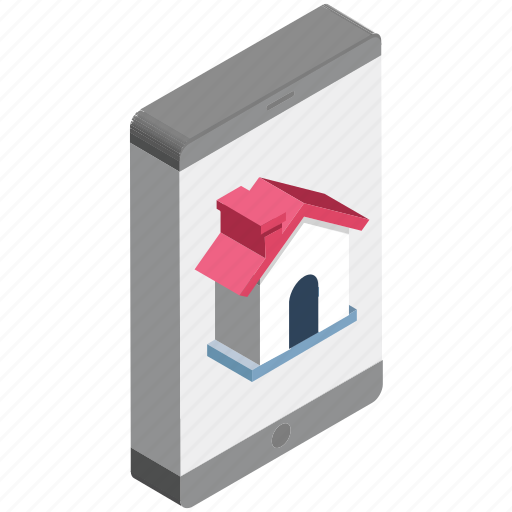 find property, mobile, mobile phone, online mortgage, online property, online real estate, property app icon
