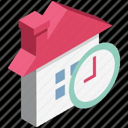 building, cottage, hut, sale time, shop, store, time icon