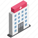 health center, health clinic, hospital, hospital building, medical center, medical facility, polyclinic icon