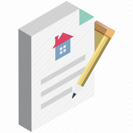 accord, home contract, legal documents, mortgage loan, pact, real estate, rental agreement icon