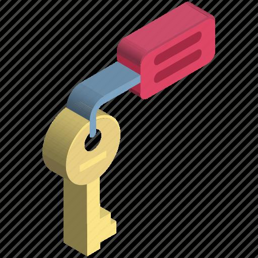 access, key, lock key, login, protection, security, unlocking icon