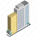 building, commercial building, hotel, inn, modern building, office, real estate icon