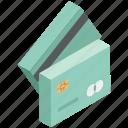 atm card, bank card, cash card, credit card, debit card, money card, plastic money icon