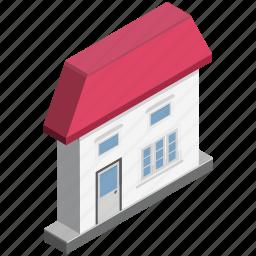 apartment, building, home, house, hut, rural house, villa icon