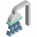 bath sprinkler, bathroom, body care, shower, shower head icon