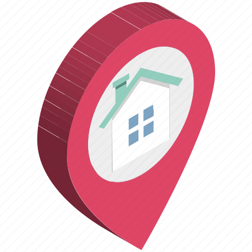 gps, home location, location holder, map pin, navigation, placeholder, places nearby icon