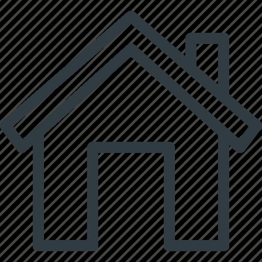 Real, home, apartment, setate, house icon