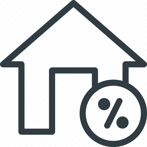Real, apartment, setate, house, discount, home icon