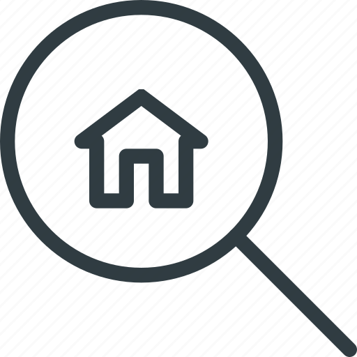 Apartment, home, house, real, search, setate icon - Download on Iconfinder