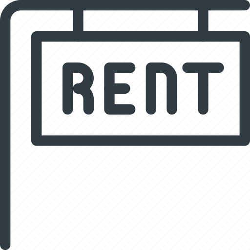 Home, house, real, rent, setate, sign icon - Download on Iconfinder