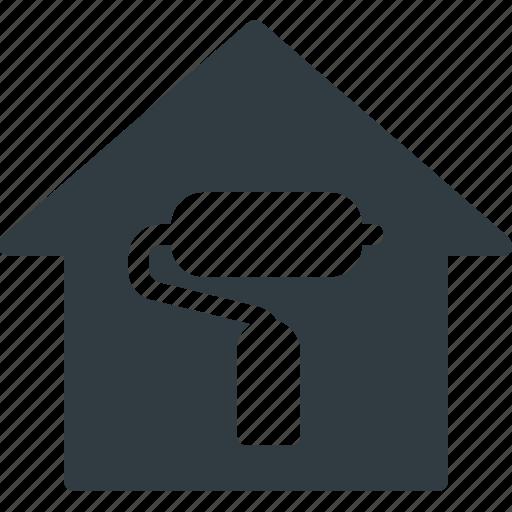 apartment, home, house, real, renovation, setate icon