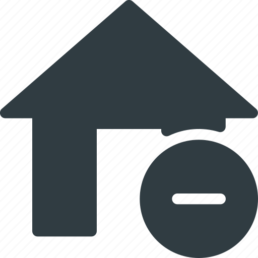 apartment, home, house, real, remove, setate icon