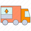 car, portage, transportation, truck, vehicle icon