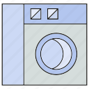 electronic, home appliance, washer icon