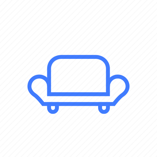 furniture, lounge, relax, rest, seat, shared room, sofa icon