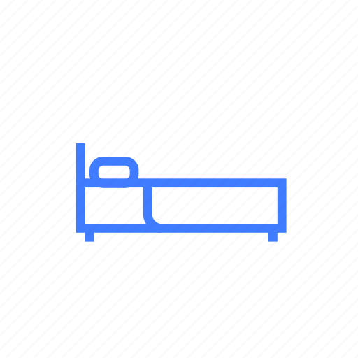 bed, bedroom, comfort, furniture, relax, sleep icon