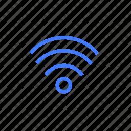 internet, online, signal, sound, wi fi icon
