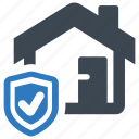 home insurance, home protection, house icon
