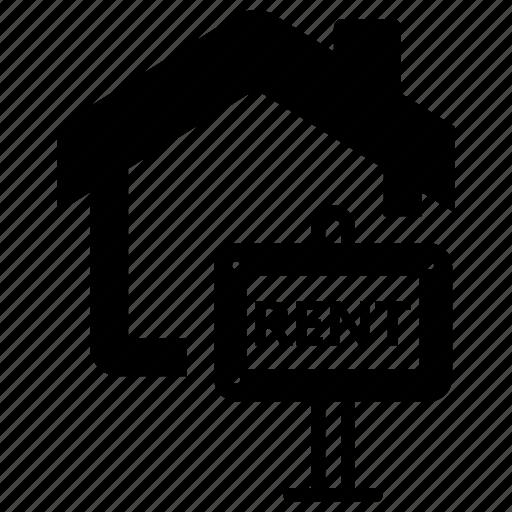 Estate, real, rent, sign icon - Download on Iconfinder