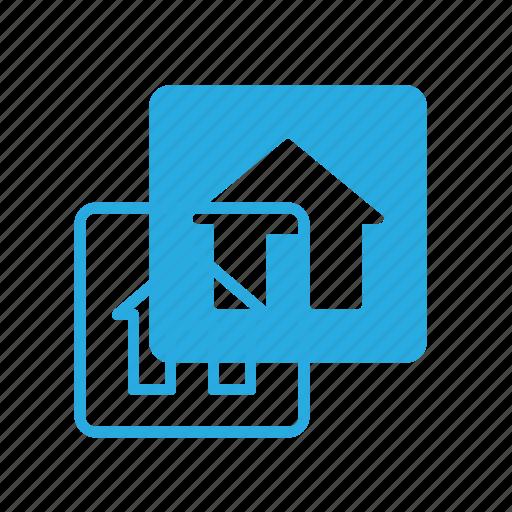 apartment, home, house, real, setate icon